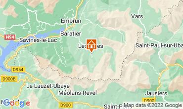 Mapa Les Orres Chalet 65856