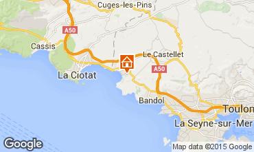 Mapa Saint Cyr sur Mer Apartamento 78331