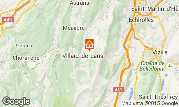Mapa Villard de Lans - Corren�on en Vercors Chalet 3640