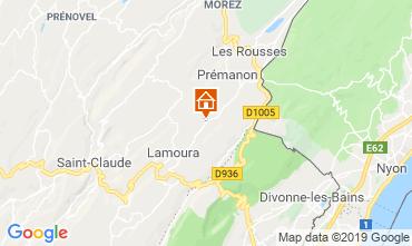 Mapa Les Rousses Chalet 89314