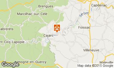 Mapa Figeac Casa rural 94999