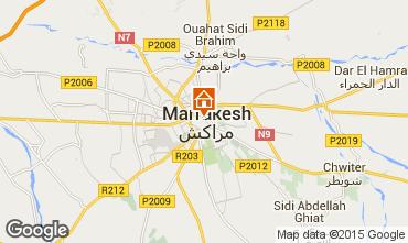 Mapa Marruecos habitación de huéspedes 45751
