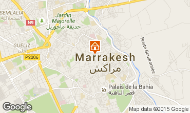 Mapa Marruecos habitaci�n de hu�spedes 45751