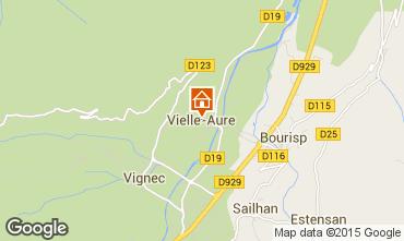 Mapa Saint Lary Soulan Apartamento 98590