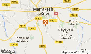 Mapa Marruecos Villa 101520