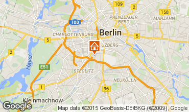 Mapa Berl�n Apartamento 81253
