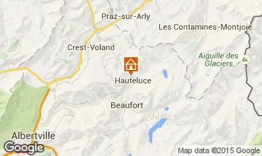 Mapa Hauteluce Chalet 68480