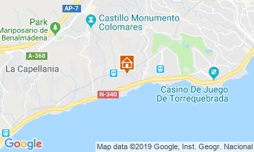 Mapa Benalmádena Casa 108786