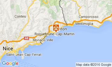 Mapa Roquebrune Cap Martin Apartamento 104967