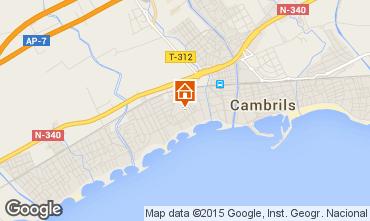 Mapa Cambrils Apartamento 71602