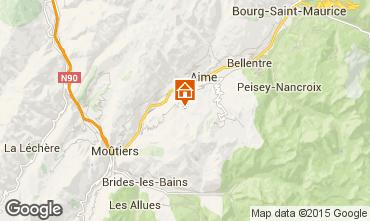 Mapa La Plagne Chalet 51041