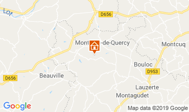 Mapa Lauzerte Casa 119124