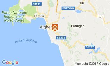 Mapa Alghero Villa 65699
