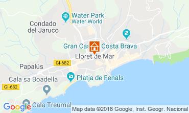Mapa Ampuriabrava Apartamento 110129