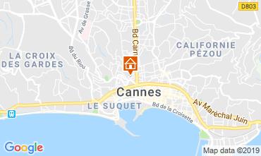 Mapa Cannes Apartamento 40957