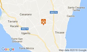 Mapa Specchia Villa 113782