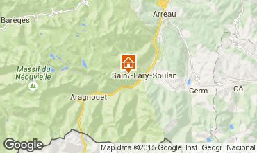 Mapa Saint Lary Soulan Apartamento 4441