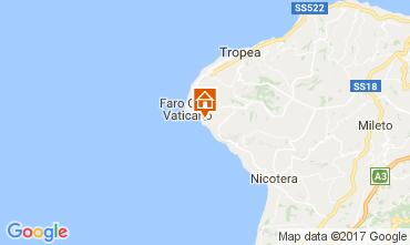 Mapa Capo Vaticano Apartamento 96370