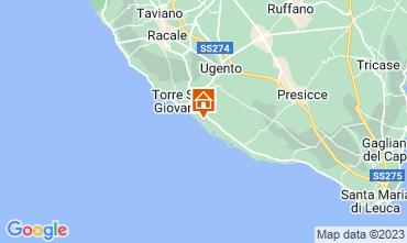 Mapa Ugento - Torre San Giovanni Apartamento 108077