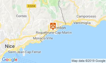 Mapa Menton Apartamento 117812