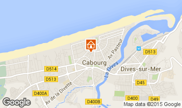 Mapa Cabourg Casa 98078