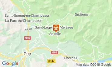 Mapa Ancelle Chalet 116834