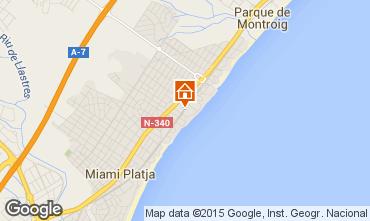 Mapa Miami Playa Apartamento 54813