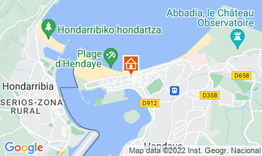 Mapa Hendaya Apartamento 9350