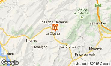 Mapa La Clusaz Apartamento 80429