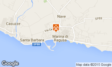 Mapa Marina di Ragusa Apartamento 92176