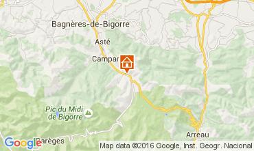 Mapa La Mongie Casa 94972