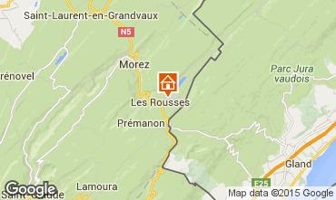Mapa Les Rousses Apartamento 58502