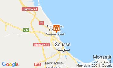 Mapa Sousse Apartamento 117128