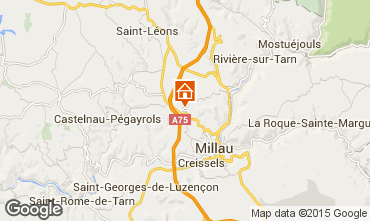 Mapa Millau Casa 94517