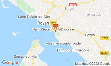 Mapa Royan Apartamento 75392