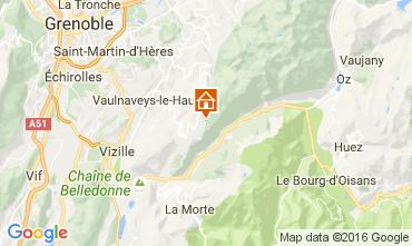 Mapa Chamrousse Apartamento 107300