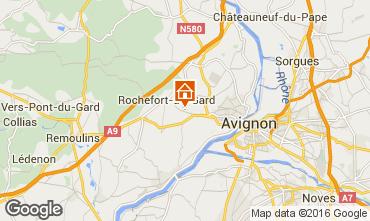 Mapa Villeneuve lez Avignon Villa 103227