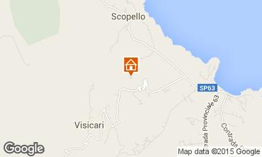 Mapa Scopello Villa 58328