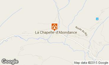 Mapa La Chapelle d'Abondance Apartamento 91419