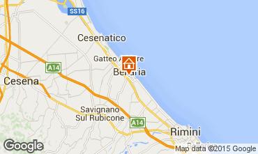 Mapa Bellaria Igea Marina Apartamento 82965