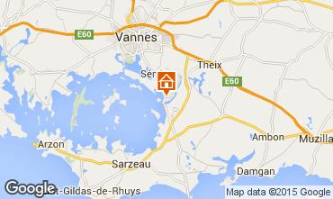 Mapa Vannes Casa rural 84535
