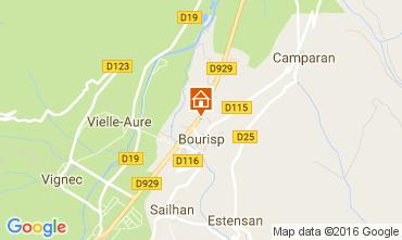 Mapa Saint Lary Soulan Villa 81833