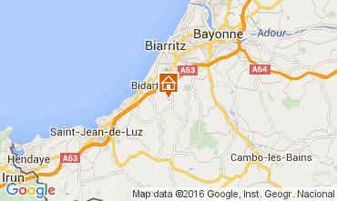 Mapa Biarritz Casa 104483
