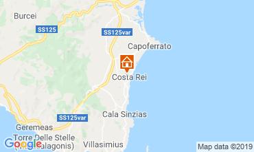Mapa Costa Rei Apartamento 82236