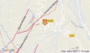 Mapa Saint Gervais Mont-Blanc Estudio 69949