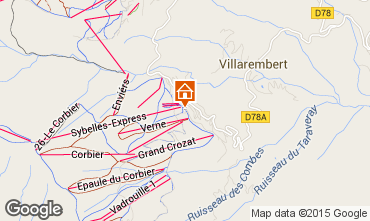 Mapa Le Corbier Apartamento 49618