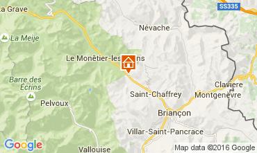 Mapa Serre Chevalier Apartamento 103769