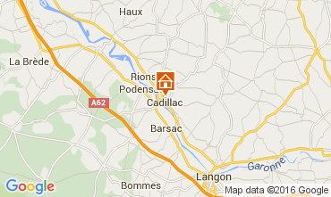 Mapa Burdeos Casa 43881