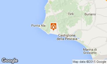 Mapa Castiglione della Pescaia Casa 52660