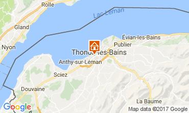Mapa Thonon Les Bains Estudio 108306